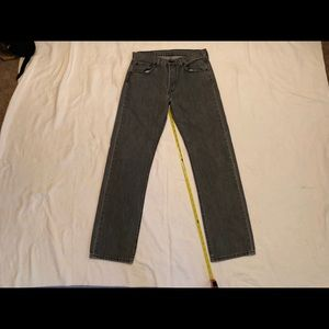 Levi's 501 w 32 L 34 button fly jeans